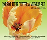Parrot Tulip Cutter & Veiner Set by Petalcrafts