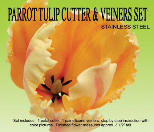 - Parrot Tulip Cutter & Veiner Set by Petalcrafts