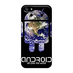 Fashion Design Hard Case Cover/ RDezcoS5601YNIDh Protector For Iphone 5/5s