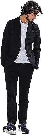 [ナノユニバース] スーツ ダメリーノ SOLOTEX 4WAY ストレッチ セットアップ メンズ