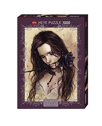 Heye Dark Rose 1000 Piece Victoria Frances Jigsaw (1000 Piece Puzzles Gothic)