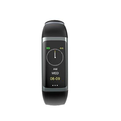 Yakuin Pulsera de Actividad, Inteligente Impermeable IP67 Monitores de Actividad, Fitness Tracker, Podómetros,Smartwatches Pulsómetros iOS y Android ...