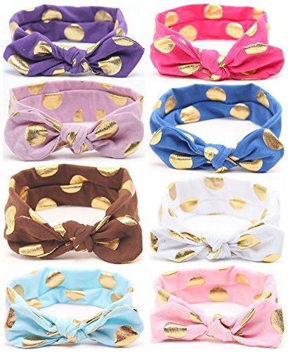 Headbands Headwrap QandSweet Toddler Hairbands