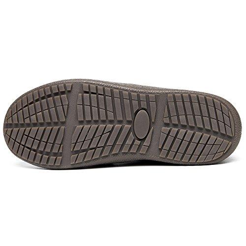 Short Faux Men Women 6811 Ankle Booties Winter Warm 2 Fur Black Snow Boots EnllerviiD Bn8xCnqw