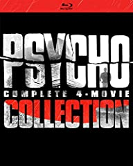 Check into the motel where guests never check out in the Psycho: Complete 4-Movie Collection, featuring all four thrillers starring Anthony Perkins as the notorious Norman Bates – including the iconic original directed by the Master of Suspen...