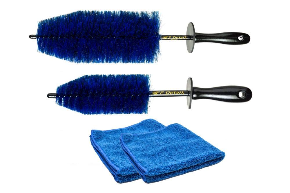 EZ Detail Brush with Free Towels - Big and Litlle