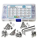 SZHKM 850pcs Stainless Steel Nuts and Bolts