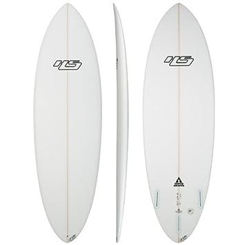 haydenshapes Unisex hypto Krypto PE Tabla de surf Transparente transparente Talla:5 ...