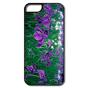 IPhone 5/5S Cases, Irises Field Flower White/black Covers For IPhone 5S