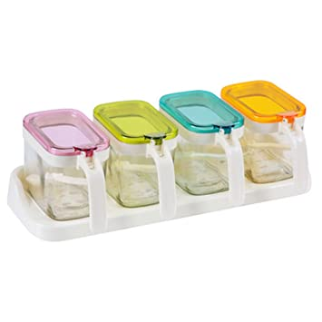 782edbd012f Image Unavailable. Image not available for. Color  High-end Plastic  Seasoning Box