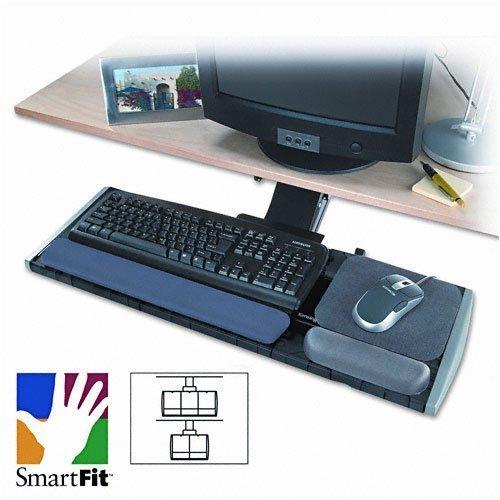 Kensington : Adjustable Keyboard Platform with SmartFit System, Black -:- Sold as 2 Packs of - 1 - / - Total of 2 Each by Kensington