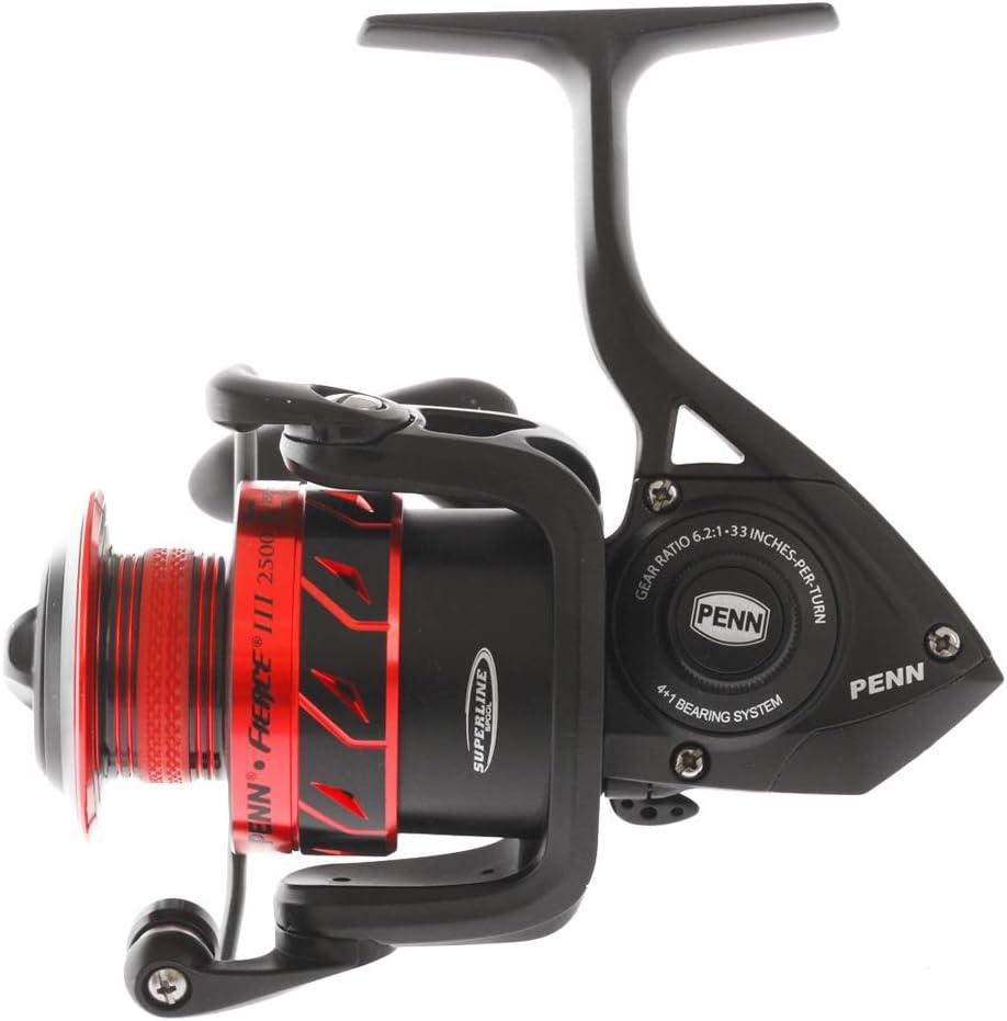 Penn Fierce III FRCIII2000 Fishing Reel Accessory Tackle Red Black NIB
