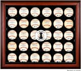 Oakland Athletics Framed 30-Ball Logo Display Case