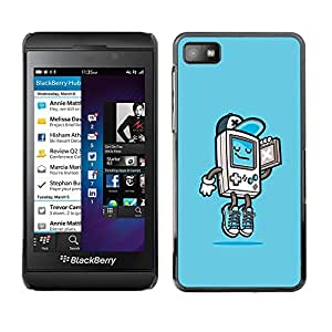 Impact Case Cover with Art Pattern Designs FOR Blackberry Z10 Gaming Console Gamer Boy Cool Kid Betty shop