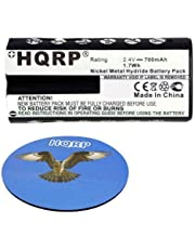 HQRP Battery for Philips BY1146 CRP395 CRP395/01 996510035449 420303584800 Replacement, Digital Screen Baby Monitor w/DECT Technology + HQRP Coaster
