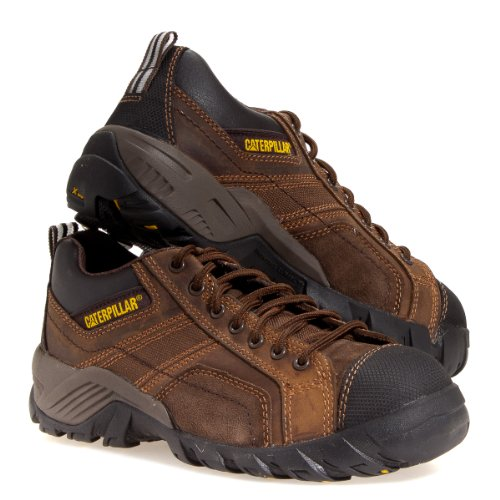 Caterpillar Men's Argon CT Construction Shoe, Dark Brown, 14 W US ()