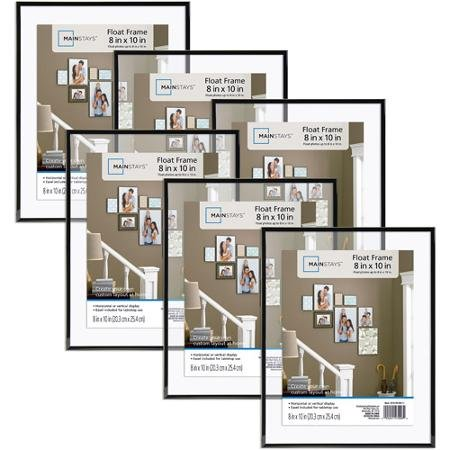 """Float Picture Frame Set 8"""" x 10"""" Home Decor Photo Gallery 6"""
