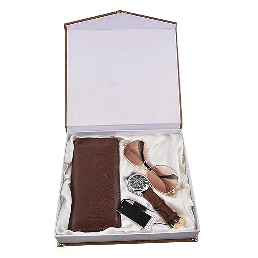 Souarts Ensemble Coffret Cadeau Montre pour Homme (Style 3)  Amazon ... 27f18722e47
