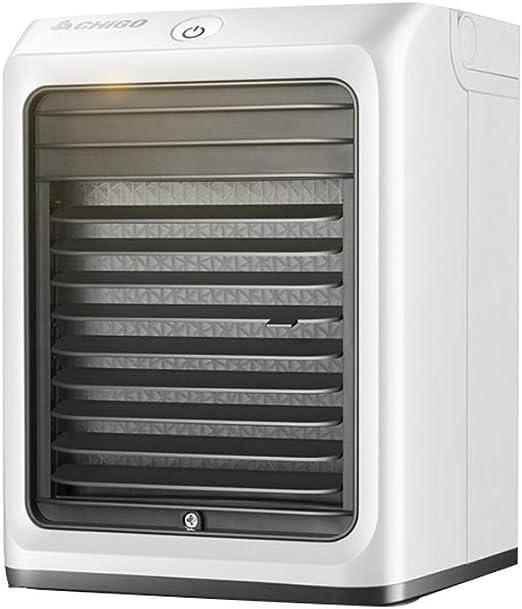 ZQG Mini Ventilador de Aire Acondicionado, USB Alojamiento for ...