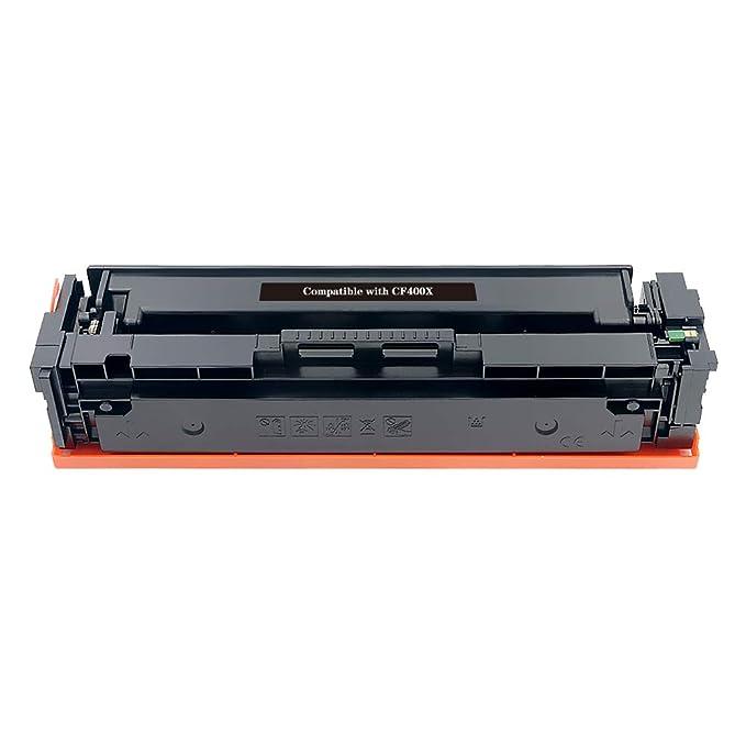 BeOne® Cartucho de tóner Compatible con HP 201X CF400X (Negro ...