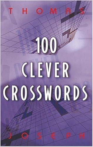 photo about Thomas Joseph Crossword Printable identified as 100 Sensible Crosswords: Thomas Joseph: 9780806917573: Amazon