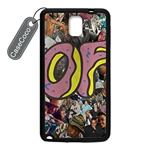 CASECOCO OFWGKTA Samsung Galaxy Note 3 Case Hard Back / Black Rubber Sides Case for Samsung Galaxy Note 3