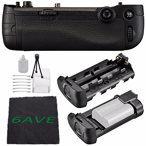 Nikon MB-D16 Multi Battery Power Pack For D750 (Certified Refurbished) + MicroFiber Cloth + Deluxe Cleaning Kit Bundle by 6Ave