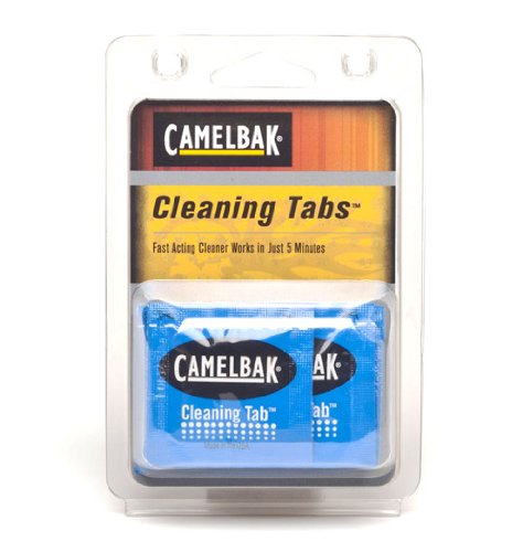 CamelBak 90601 Max Gear Cleaning Tablets (8 Pack) by CamelBak