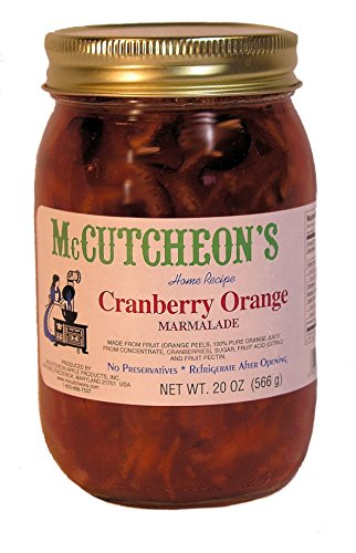 Orange Relish - McCutcheon`s Cranberry Orange Marmalade