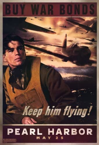 War Bonds Poster Keep Him Flying 24in x 36in