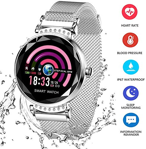 DOOK Smart Watch for Women, Fitness Tracker Compatible with iOS Android Phone, Sport Activity Tracker with Sleep/Heart…