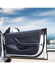 DESLE Tesla Model 3 Door Seal Kit,Strip Weather Stripping Wind Noise Reduction Kit Weather Draft Seal Strip