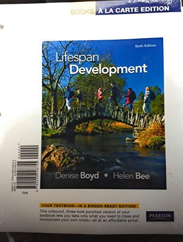 Lifespan Development, Books a la Carte Edition (6th Edition)