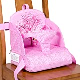 Abetto Baby Toddler Kids Infant Portable Booster Seat for Eating, Foldable/Washable/ Adjustable/Travel Dining