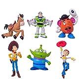 Lots 6pcs Toy Story 3 Buzz Lig