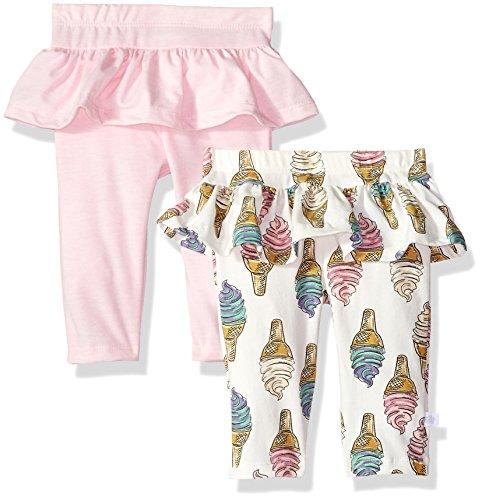 Rosie Pope Baby Newborn Girls 2 Pack Novelty Legging