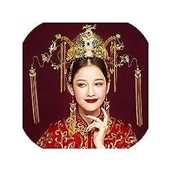 Traditional Chinese Bridal Headdress