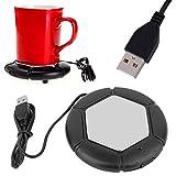 NEW Portable Desktop USB Coffee Warmer - Tea, Cup, Mug, Candle, Wax Warmer Pad cool gadget free shipping