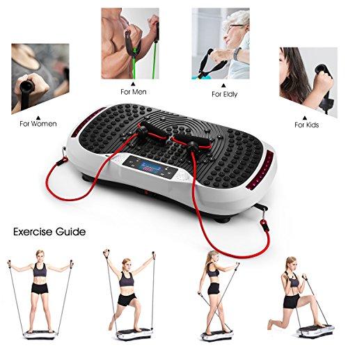 GENKI YD-1015W Vibration Platform Plate Whole Body Massager Machine Slim Exercise Fitness by GENKI (Image #7)