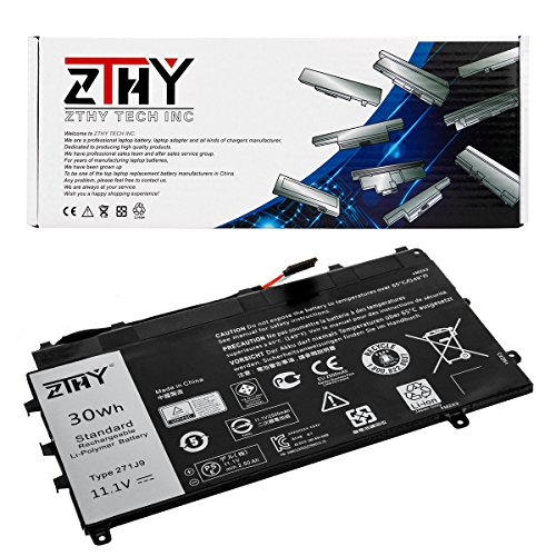 Laptop 2500 Series (ZTHY New 271J9 Laptop Battery Replacement For Dell Latitude 13 7000 7350 Series Notebook GWV47 0GWV47 MN791 YX81V 3WKT0 0MN791 11.1V 30WH 2500mAh)