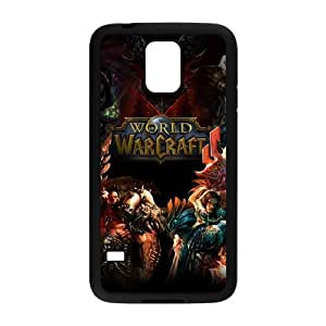World of Warcraft For Samsung Galaxy S5 I9600 Csae protection Case DAQ505629