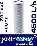 purway Crystal Group PCB - Filtro de carbono (4500 L/h, 10 µm)