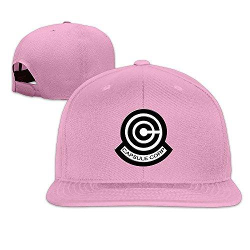 Z largo Cápsula Nuevo plano sombrero del Corp Rosado Logo Fashion Dragon lo Ball a 1q5w4vAA