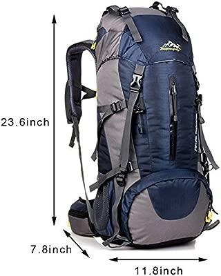 Bolsa de Hombro tama/ño Grande Mochila Senderismo Mochila de Viaje Senderismo Camping Prospo Mochila Plegable Ligera de 40 litros