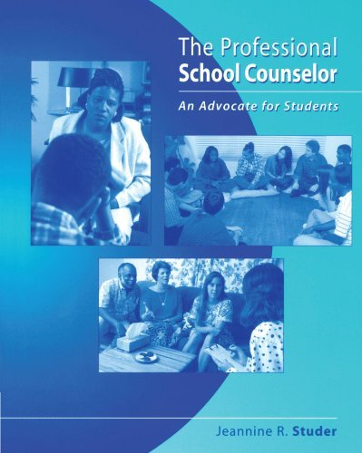 The Professional School Counselor: An Advocate for Students by Jeannine R. Studer (2004-08-10)