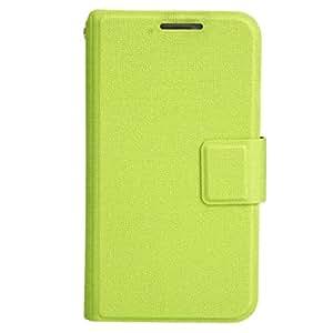 Mzamzi - Gran valor universal de la pu funda de cuero protectora para 3.5 \ -3.8 \ celular verde