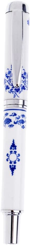 Hellery Penna Stilografica Cinese In Porcellana Blu E Bianca 1