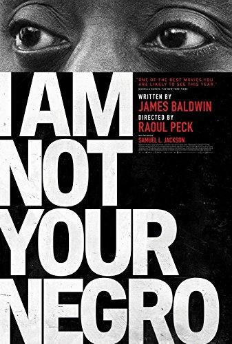 "I AM NOT YOUR NEGRO - Original Movie Postcard 4""x6"" 2017 Rare James Baldwin"