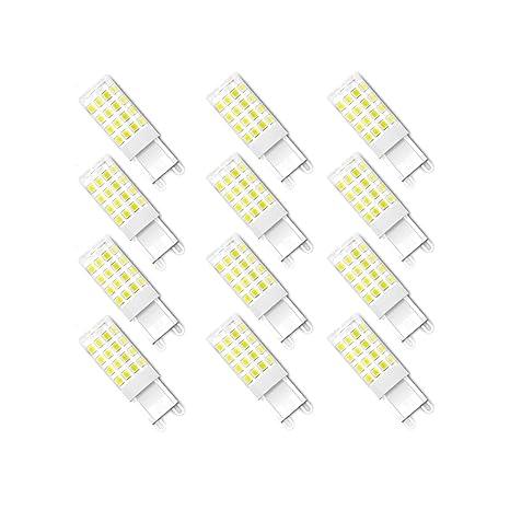 ENGEYA - Bombillas LED G9 de 40 W equivalentes a bombillas halógenas, 4 W LED