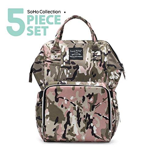 SoHo tactical diaper bag backpack Metropolitan 5 pcs nappy t